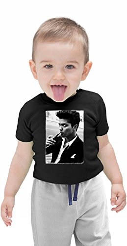 Bruno Mars Smoking Organic Baby T-shirt 12 - 18 Months