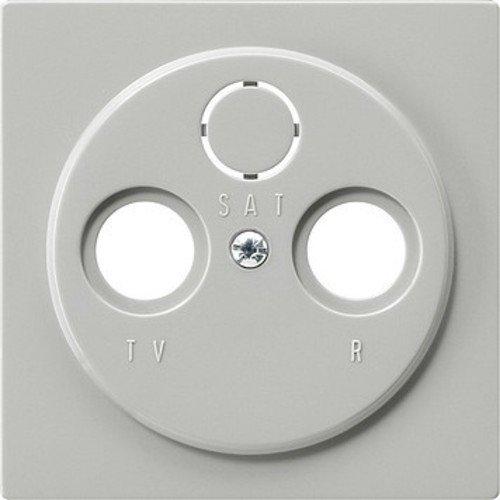 Gira 086942 Afdekking voor antenne-stopcontact, grijs