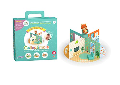 Gipsy Univers Collectimals-Coffret de Jeu avec Peluches, 055979, Multi
