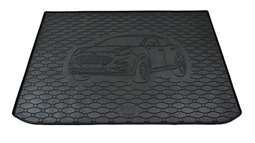 ilTappeto Auto by Fabbri 3-147B-808216 – Compatible con alfombrilla de goma a medida para maletero de coche para Ford Puma