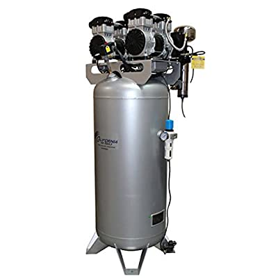CALIFORNIA AIR TOOLS 60040DCAD Powerful 4.0 Hp Ultra Quiet & Oil-Free Air Compressor with Air Drying System and Automatic Drain Valve by California Air Tools