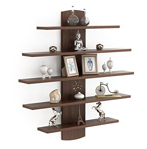 Bluewud Caselle Lifestyle Wall ShelfDisplay Rack