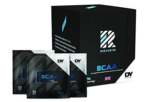 Renew BCAA, 375g Box, 30 Sachets/Servings (Strawberry)