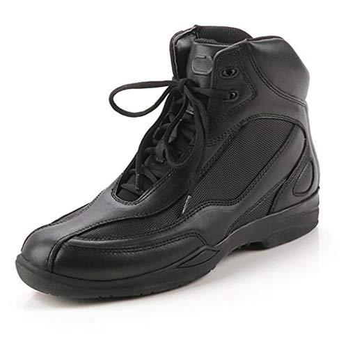 NHX Zapatos de Moto para Hombre Zapatillas de protección de Cuero Deportivas...