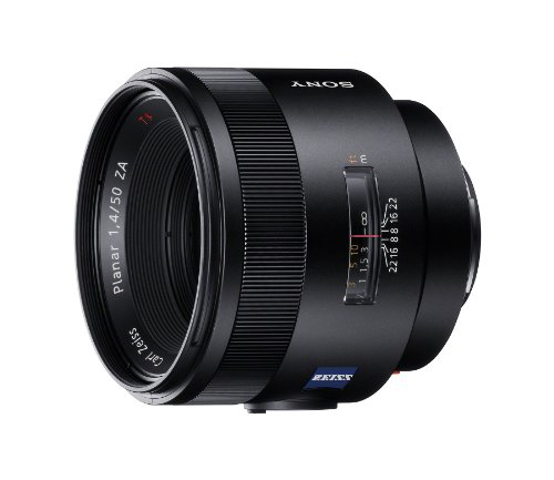 Sony sal-50f14z carl zeiss planar t 50mm f1. 4 za fixed lens