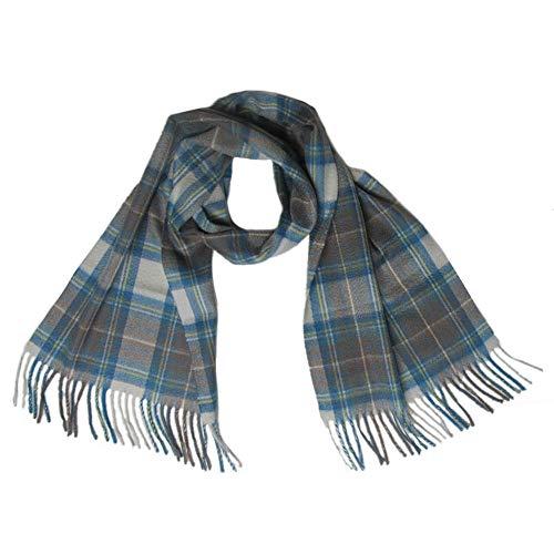 Lona Scott - Damen Kaschmir-Schal mit schottischem Tartanmuster - M.B. Stewart