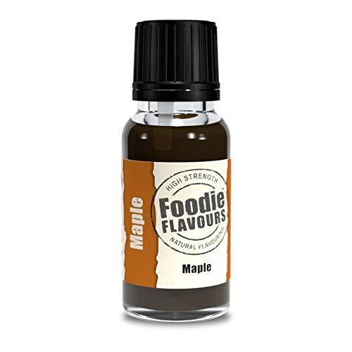 Foodie Flavours Ahornholz – Natürliches Lebensmittelaroma 15 ml