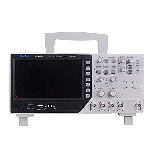 Hantek DSO4072C digitales Oszilloskop, USB, 2 Kanäle, 70MHz Wellenformgenerator