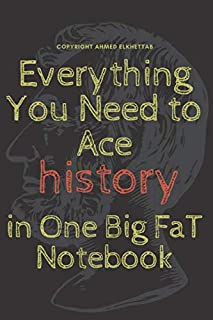 Everything You Need to Ace Computer History in One Big Fat Notebook: The cover is more than cool and very good notebook ,g...