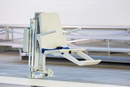 S.R. Smith ML300 Swimming Pool Lift with Integrated Arm Rests