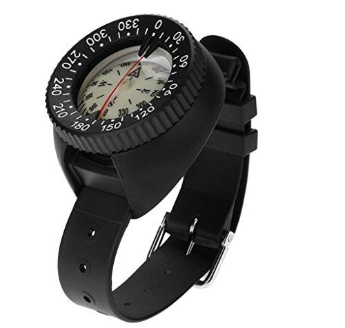 Hycy Outdoor Mini Armbanduhr Design Leichte Tragbare Wasserdichte Kunststoff Kompass Für Schwimmen Tauchen Wassersport Zubehör
