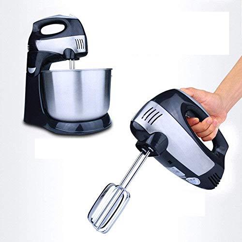 Staafmixer, Standmixer Roestvrijstalen Mengkom Hoofd Voedselmixer Keuken Elektrische Mixer Hand- en Standmixer Controle Functie