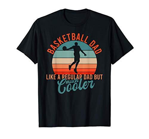 Hombre Equipo Entrenador Día del Padre Basketball Baloncesto Camiseta