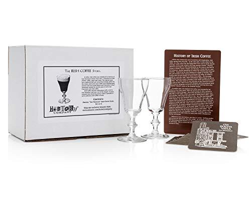 History Company San Francisco Irish Coffee Gläser (Geschenkbox), 170 ml, 2 Stück
