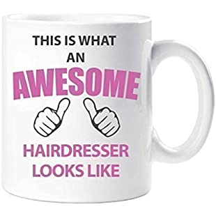 This Is What An Awesome Hairdresser Looks Like Mug Present Gift Cup Birthday Christmas
