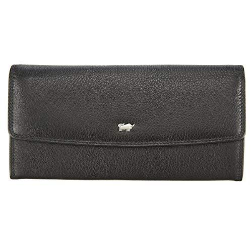 Braun Büffel Golf Damen Geldbörse 19 cm schwarz