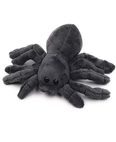 Onwomania Peluche Peluche Animal araña tarántula Animal Negro 20 cm