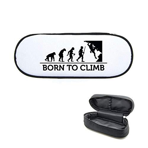Federmäppchen, bedruckt, Evolution Klettern 2