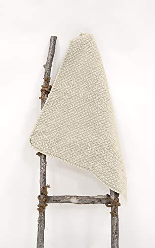 Dunex sprei Marrakesh voor tweepersoonsbed, 260 x 260 cm, kleur natuur of taupe