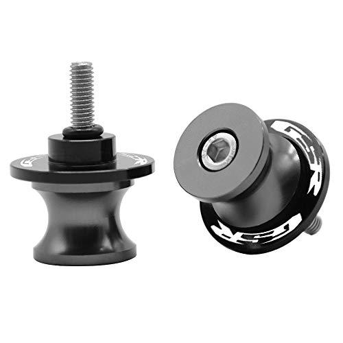 2pcs Diabolos M8*1.5 CNC Aluminio 8mm Tornillos para Suzuki GSR 250 400 600 750 1000 GSR400 GSR600 GSR750 GSR1000(Titanio)