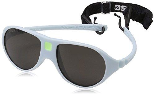 Ki ET LA – Gafas de sol para niños modelo Jokala– 100% irrompibles - color Azul Cielo – 2-4 años