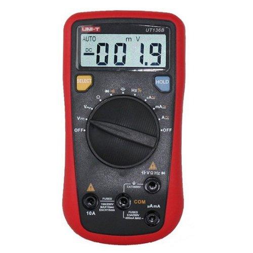 Generic UNI-T UT136B Auto Range multímetro digital ac dc frecuencia resistencia probador