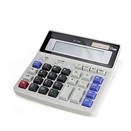 FDSJKD Calculadora de Escritorio Botones Grandes Herramienta de Contabilidad de Negocios financieros Marca Nueva Calculadora Oficina estudiantil Escuela Ayuda Aprendizaje