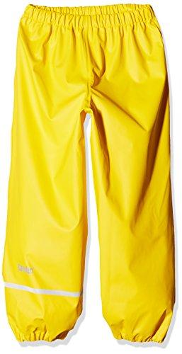CareTec Kinder Regenhose (verschiedene Farben) , Gelb (Yellow 324), 122