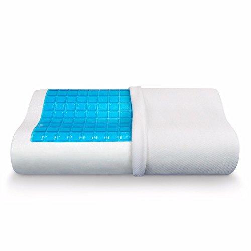 Jitsu Comfort Sleep Orthopedic Cooling Gel Memory Foam Pillow With...