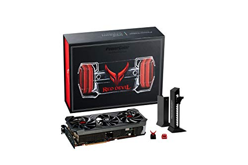 PowerColor Red Devil Limited Edition AMD Radeon RX 6800 XT Gaming Graphics Card with 16GB GDDR6 Memory, Powered by AMD RDNA 2, Raytracing, PCI Express 4.0, HDMI 2.1, AMD Infinity Cache