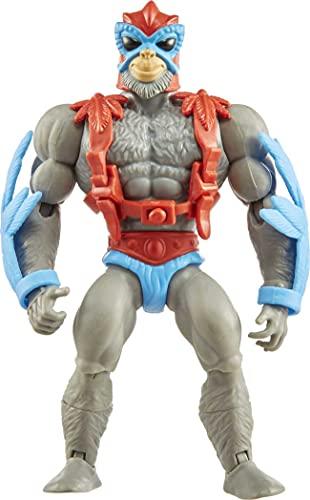 Masters of the Universe GVW65 - Origins Stratos Actionfigur, ca. 14 cm große Actionfigur, Figuren zum Spielen und Sammeln, Geschenk für 6- bis 10-Jährige und erwachsene Sammler, mehrfarbig