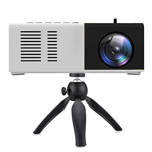 Proyector Portátil Mini, 1080P Full HD Soporta, 3000 Lumen con Audio Hi-Fi, Cine en Casa de 100'' Pantalla Compatible con HDMI, USB, PS4, VGA, AV, TV Stick, Smartphone, Tablet【Nuevo Modelo 2020】