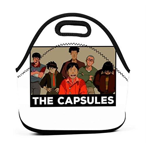 The Capsules Riutilizzabile Lunch Tote Bag Scatola pranzo picnic impermeabile