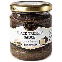 Black Summer Truffle Trufa Negro Tuber aestivum Pasta de salsa de comida gourmet de lujo, ideal para carne, pan a la parrilla, tortillas, pasta, risotto, sushi