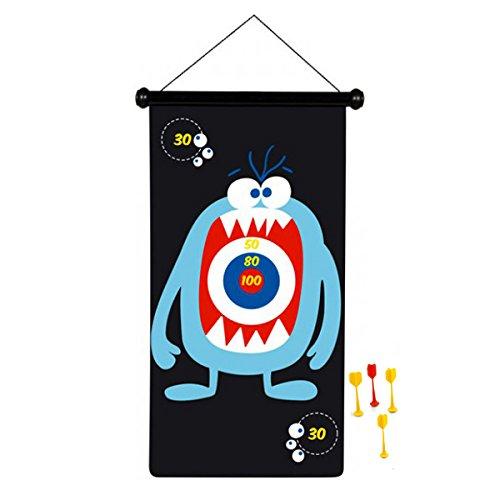 Scratch 6182004 - Dartspiel Monster, groß, magnetisch, 70 x 36 cm
