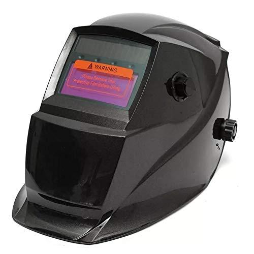 MUCHENG ZI Helm Dual-Use Solar Automatische Verdunkelung Schweißhelm Big View Bereich Professionelle Schützen Werkzeug Maske for Arc Mig Wig Weld
