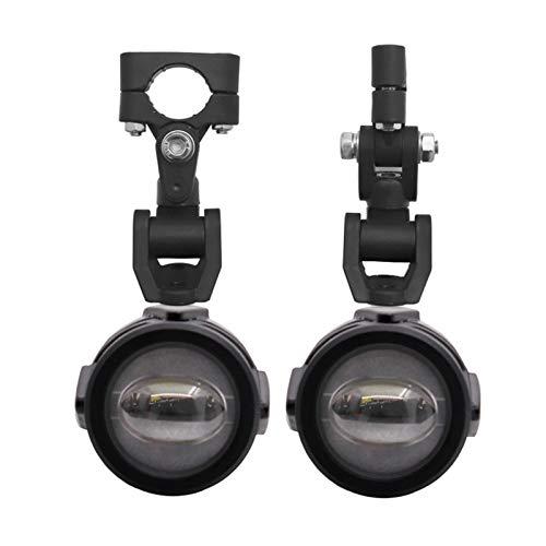 Luz de Motocicleta LED Moto Fog Spotlight Luz de Trabajo 6000K para F700 F650GS F800GS R1200GS Piezas de Motocicleta Especial Motocicleta Especial Foco Extra (Color : Just Only 2 Lights)
