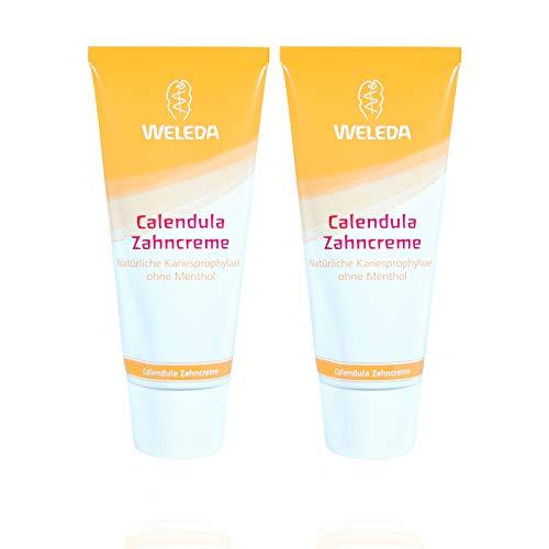 2x Weleda Calendula Zahncreme 75 ml, Homöopathie - verträglich