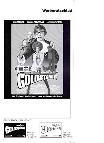 Austin Powers in Goldständer - Mike Myers - Werberatschlag (W1.7)
