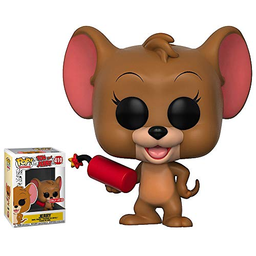 Lorenay Tom & Jerry Funko Pop Jerry con explosivos Vinilo Figura # 410 - Sticker SIN Objetivo