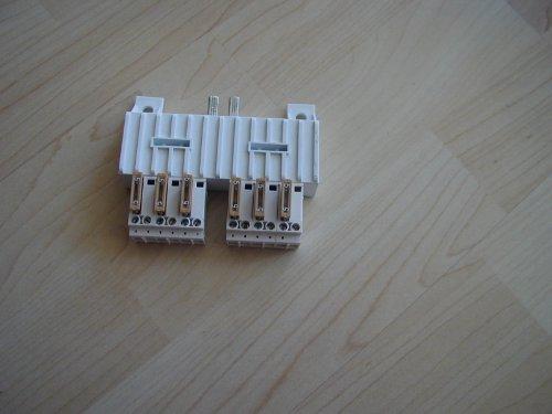 Preisvergleich Produktbild ABB Stotz Verteilerklemme,  Metall,  Integriert,  10 W,  Grau,  35 x 35 x 25 cm