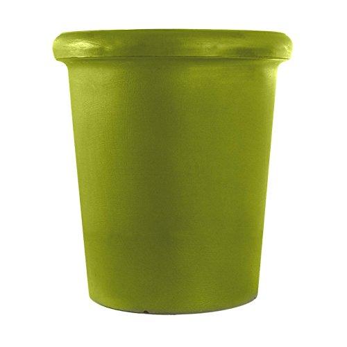 Camelia Plant Pot Ø 45x30cm Apple Green Semi-circular