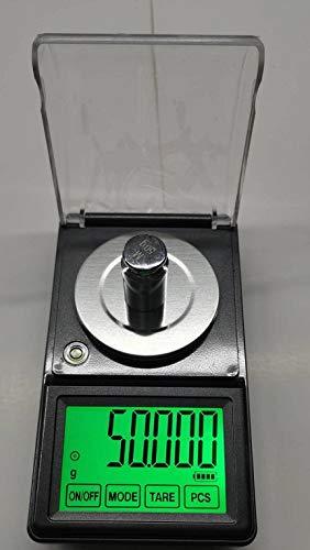 タッチパネ電子てんびんDC電源使用可能、日本語取説付精密天秤0.001gで50gスケール超精密はかりデジタル秤最小単位0.001gが計れるデジタルはかりデジタル天秤電子天秤デジタルはかり