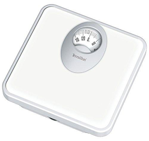 Terraillon T61 - Báscula analógica, hasta 120 kg, color blanco