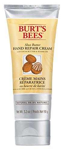 Burt's Bees Natürlich Handcreme mit Vitamin E und Shea Butter, Handpflege für trockene Hände, 1er Pack x 90 g