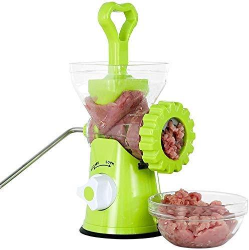 LKOER Accesorios para el hogar Choppers de Comida y microciclos Herramientas de Cocina Manual Pequeño Amoladora pequeña Enema 30 Segundos una Libra de Carne jinyang