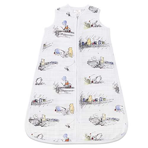 aden + anais - Leichter Schlafsack für Baby DISNEY, Unisex, Winnie The Pooh, 6 - 18 Monate