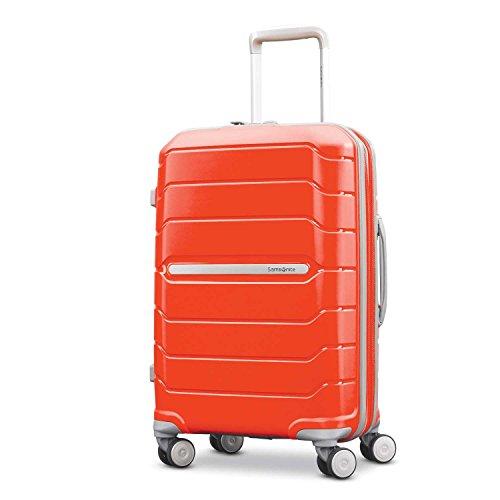 Samsonite Freeform Hardside Expandable with Double Spinner Wheels, Tangerine