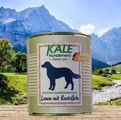 Kale Lamm mit Kartoffeln Nassfutter Hund (6 x 800g)