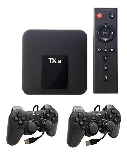 Video Retro Game 8600 Jogos 16gb Tv Box 2 Controles USB